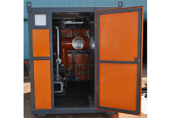 Decontamination equipment series of Vakuum Oil